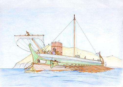 Hellenistic War Ship