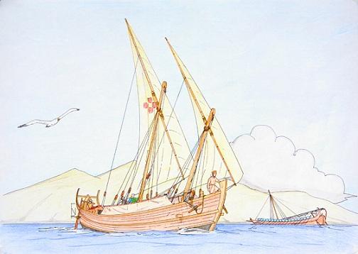 Byzantine Cargo Ship