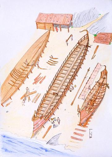 Γεωμετρικά Πλοία