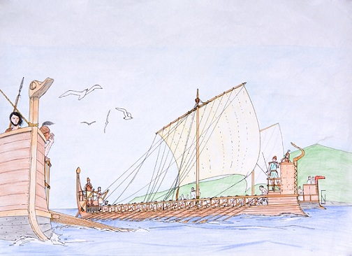 Mycenaean Ships