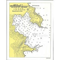 Bays and Harbours of Folegandros - Sikinos - Ios and Anafi Islands Nautical Chart