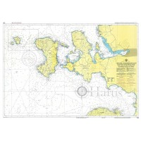 Chios - Psara to Samos and Asia Minor Coast Nautical Chart