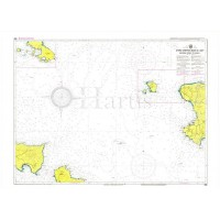 Kafireas Strait to Chios Island  Nautical Chart