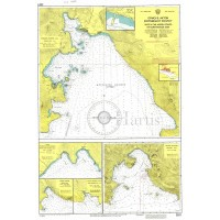 Bays in the North Coasts of Corinthiakos Gulf Nautical Chart