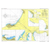 Port and Canal of Corinthos with Approaches Nautical Chart