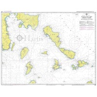 Petalioi Gulf to Naxos Island Nautical Chart