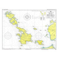Island Leros to Kos Nautical Chart