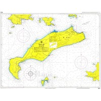 Kos Island Nautical Chart