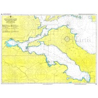 North Evoic Gulf - Chalkida to Trikeri Pass Nautical Chart