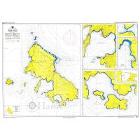Skyros Island Nautical Chart