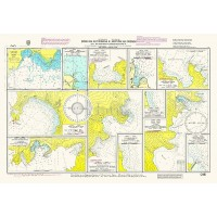 Bays and Anchorages of Kerkyra and Othonoi Island Nautical Chart