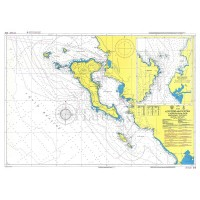 From Othonoi Islands to Mytikas Point - Kerkyra Island and Paxoi Nautical Chart
