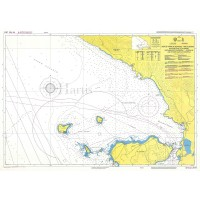 North Corfu - Othonoi - Albanian Coast Nautical Chart