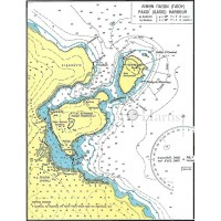 Paxoi Island Bays and Harbour Nautical Chart
