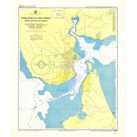 Preveza - Strait, Bay and Harbour Nautical Chart