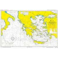 Aegean & Ionian Seas Nautical Chart