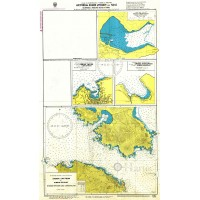 Anchorages of Argolikos and Hydra Gulfs Nautical Chart