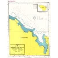 Dapia Harbour - Baltiza Bay (Spetses Island) Nautical Chart