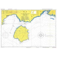 Cape Vrasidas to Cape Fanari and Thassos Island Nautical Chart