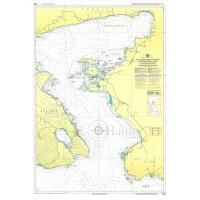 East Coast of Lesvos & Asia Minor Coast Nautical Chart