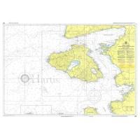 Lesvos Island and Asia Minor Coast  Nautical Chart