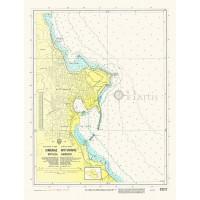 Mytilini Harbour (Lesvos Island) Nautical Chart