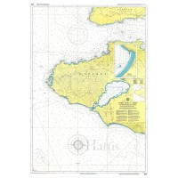 West Coast of Lesvos & Asia Minor Coast Nautical Chart