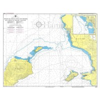 Aigina Harbour and Approaches - Metopi Strait (Saronikos Gulf) Nautical Chart