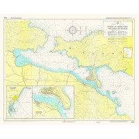 Poros Harbour and Approaches (Poros Island) Nautical Chart