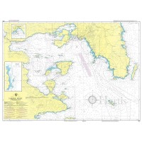 Saronikos Gulf Nautical Chart