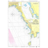 Zea Marina to Vari Bay (Varkiza) Nautical Chart