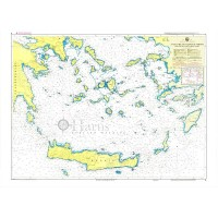 South Aegean Sea Nautical Chart