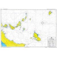 North Sporades - Ag. Efstratios  Nautical Chart