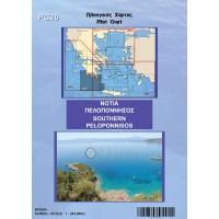 Southern Peloponnese Pilot Nautical Chart