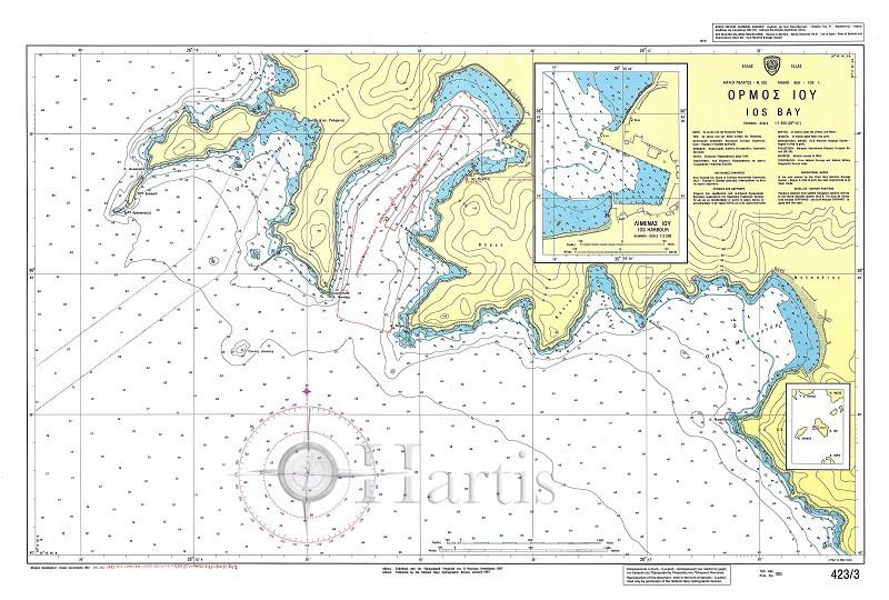 Ios Bay Nautical Chart