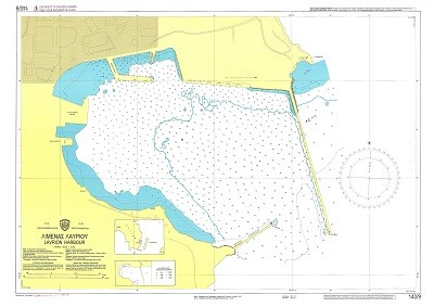 Lavrio Harbour Nautical Chart