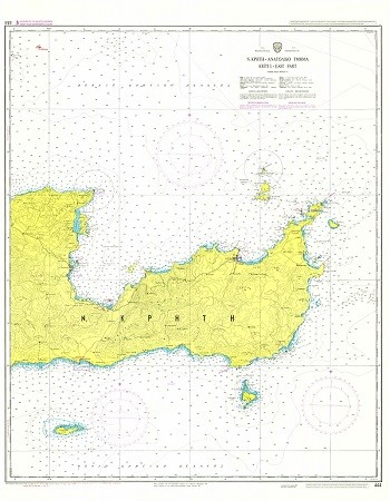 East Crete  Nautical Chart