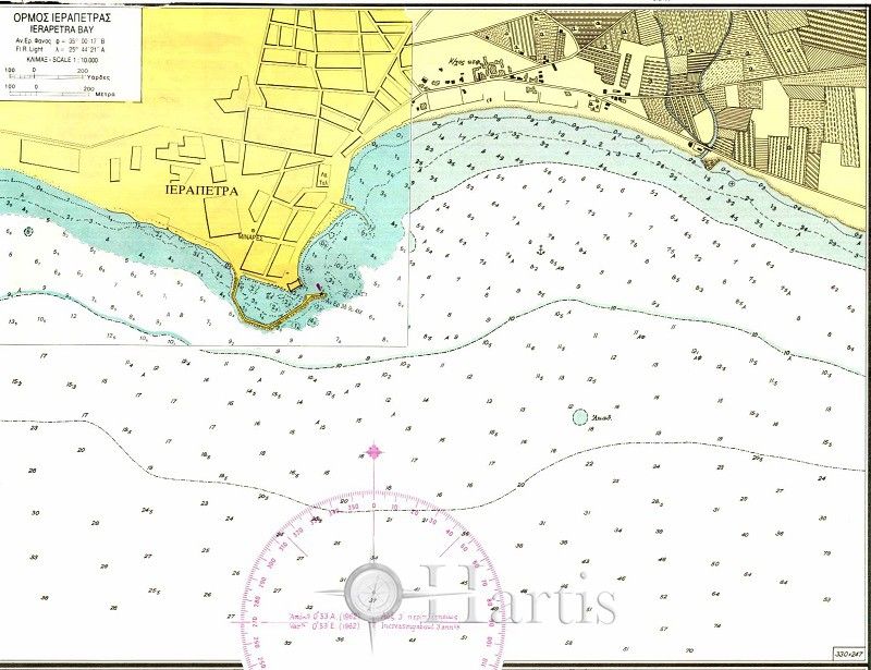 Ierapetra - Kaloi Limenes Bays Nautical Chart