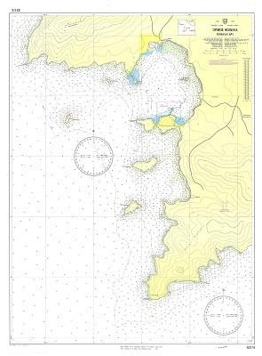 Syros Hiking Map Hartisorg Sailing Guides Charts