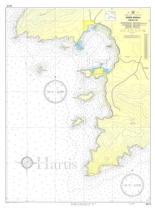 Foinikas Bay (Syros Island) Nautical Chart