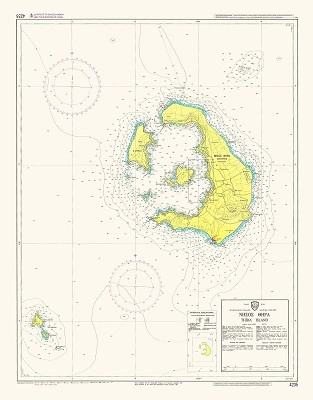 Santorini Nautical Chart