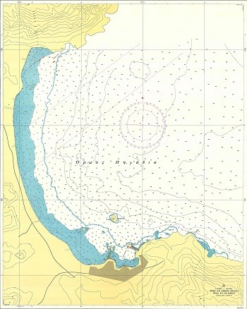 Bays and Harbours of Kassos and Karpathos Islands Nautical Chart