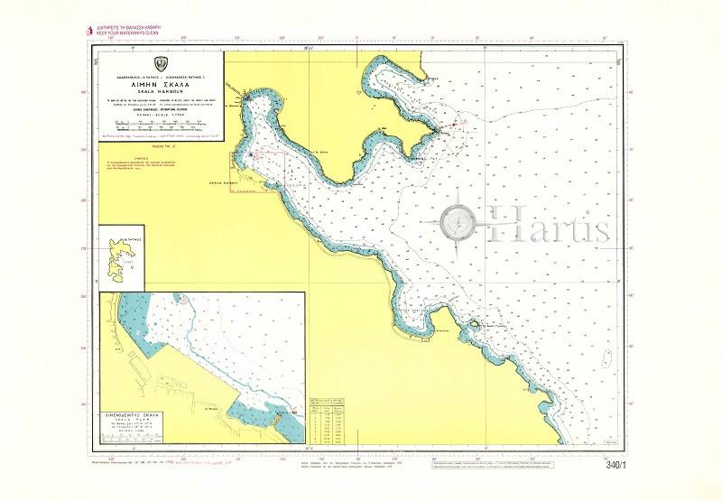 Skala Harbour (Patmos Island) Nautical Chart