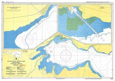 Maliakos Gulf - Inner Part (Lamia Gulf) Nautical Chart
