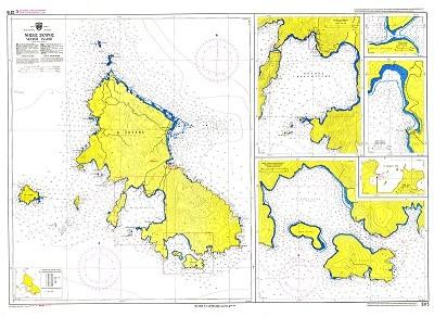 Skyros Island Nautical Chart