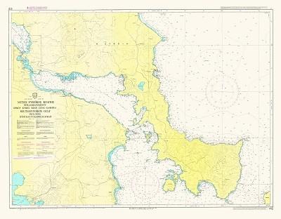 South Evoic Gulf, Kymi Bay to Kafireas Strait  Nautical Chart