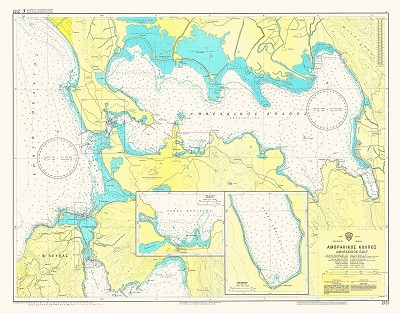 Amvrakikos Gulf Nautical Chart