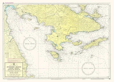 Argolic Gulf - Ermionis Sea  Nautical Chart