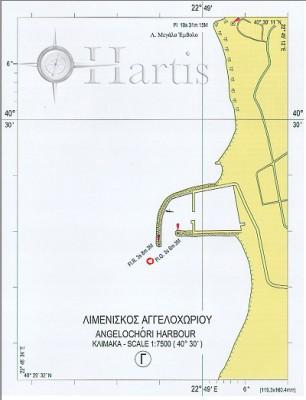 Thermaikos Gulf - Thessaloniki Port Nautical Chart