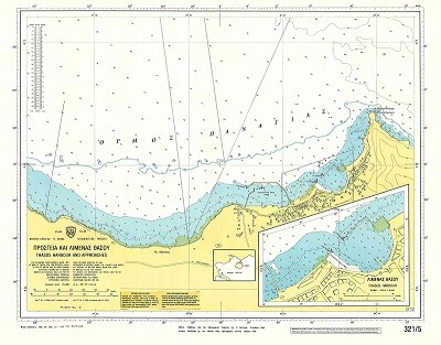 Thassos Harbour and Approaches (Thassos Island) Nautical Chart